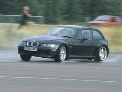 Lewis struggled in the M Coupe...