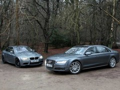 Two amazing V8s, for widly different reasons