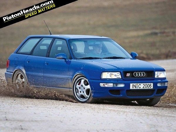 Catch It While You Can Audi Rs2 Pistonheads
