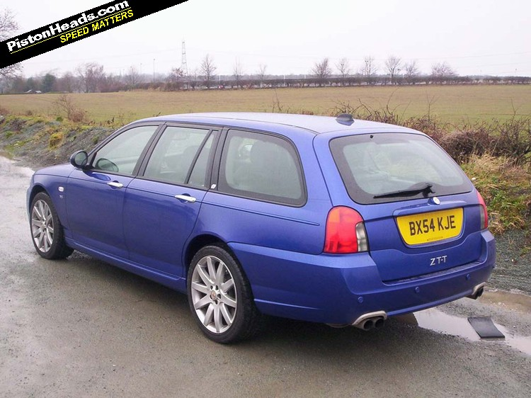 Mg Zt T V8 Catch It While You Can Pistonheads