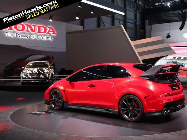 Honda Civic Type R Concept Geneva 2014 Pistonheads
