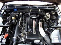 Engine deliberately kept stock looking; isn't