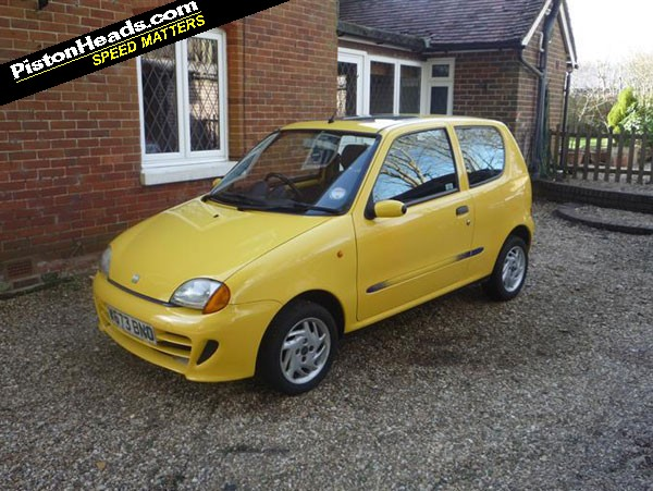 Fiat Seicento Sporting Yellow The Fiat Seicento Sporting