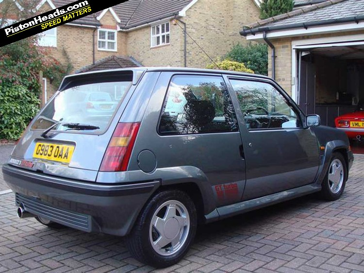 Renault 5 GT Turbo: Spotted | PistonHeads