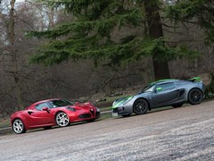 4C not far off Exige in terms of rawness