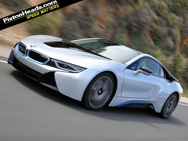 Chris Harris video: BMW i8