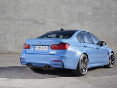 Junk in the trunk; the M3 saloon's got it