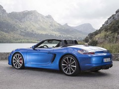 Boxster GTS like Cayman, minus 10hp and roof