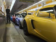 Compulsory Eurotunnel shot, albeit in company