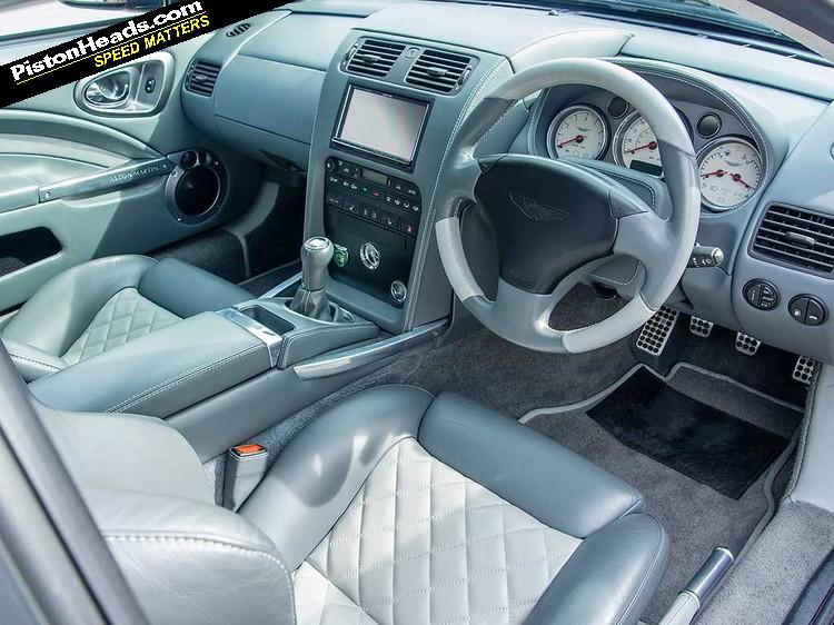 Aston Martin Vanquish Manual Driven Pistonheads Uk