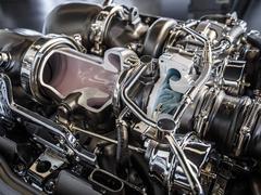 'Hot-V' layout puts two turbos inside cylinder banks