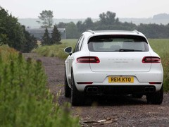 We took the Macan where most won't - off-road