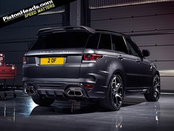 Re Overfinch Range Rover Sport Page 1 General Gassing Pistonheads