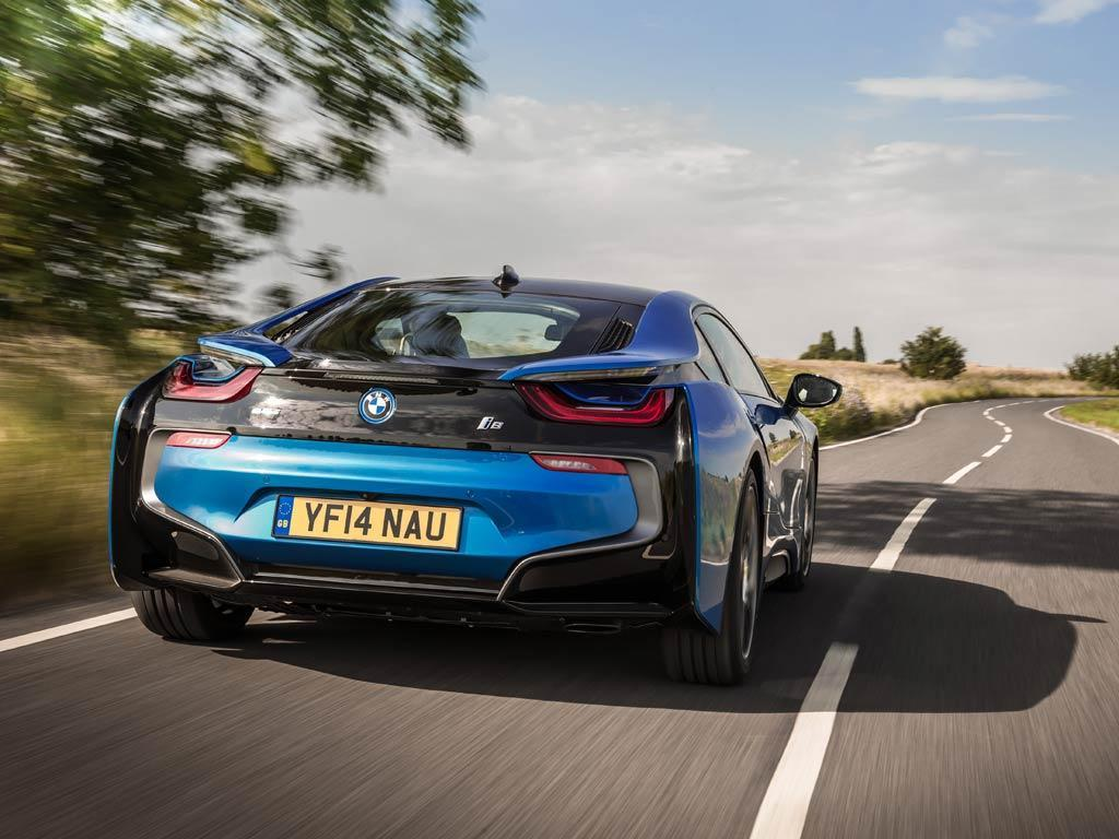 The i8 is quick, but some rivals feel faster