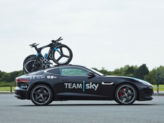 Team Sky's cars were already pretty cool...