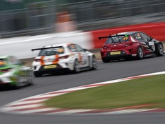 Racing predictably close in identical cars