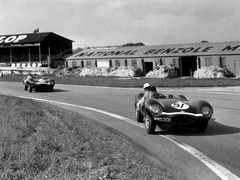 Flockhart and Titterington at Goodwood in '56