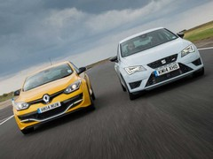 It's a battle for hot hatch heart and soul!