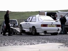 Forthcoming vids to include Chris's M3 rally car