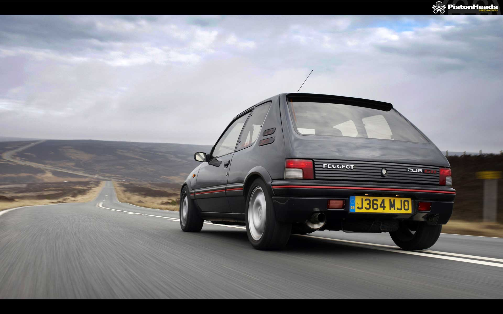 peugeot 205 gti pic of the week pistonheads. Black Bedroom Furniture Sets. Home Design Ideas