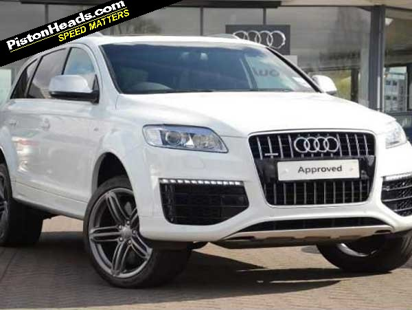 Audi Q V TDI You Know You Want To PistonHeads - Audi q7 v12