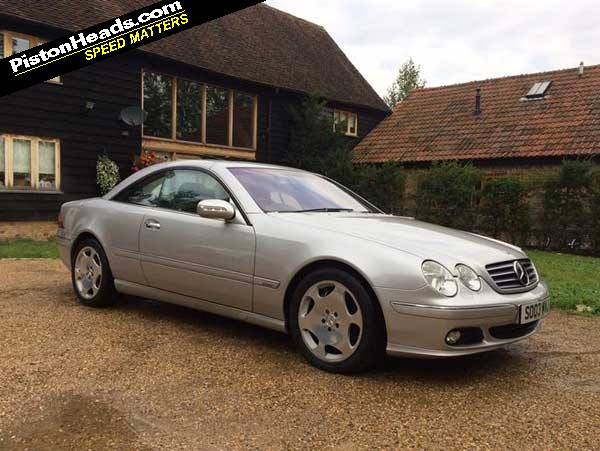 mercedes cl600 spotted pistonheads. Black Bedroom Furniture Sets. Home Design Ideas