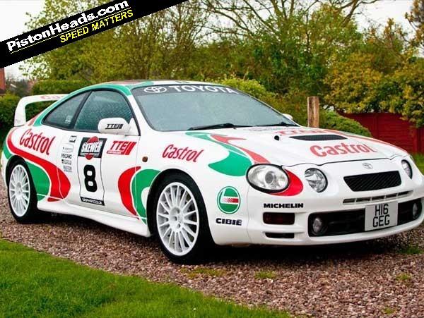 Toyota Celica Rally Car For Sale