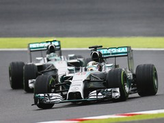 Crash marred a great race for Hamilton