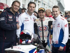 First podium for Haslam in two years; result!