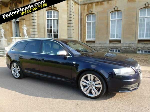 audi s6 avant 5 2 fsi spotted pistonheads. Black Bedroom Furniture Sets. Home Design Ideas