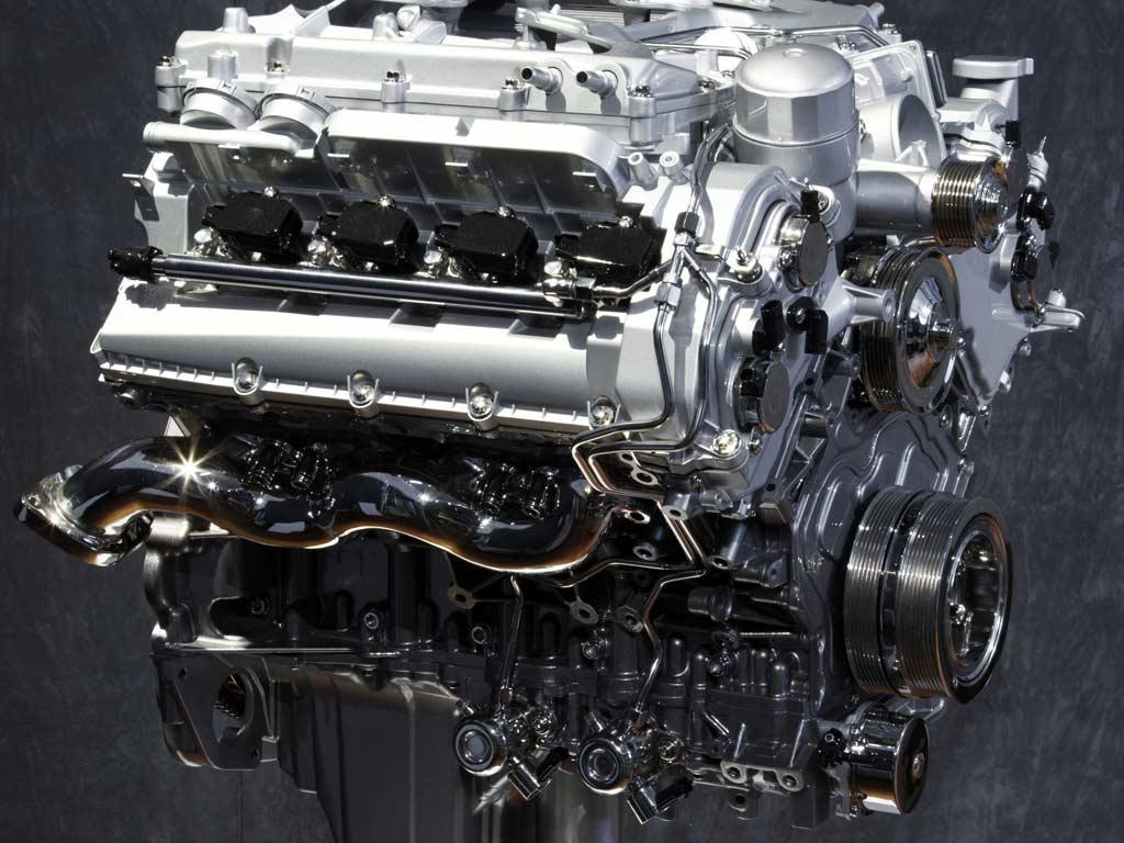 Supercharged 5.0 V8 arrived in 2009