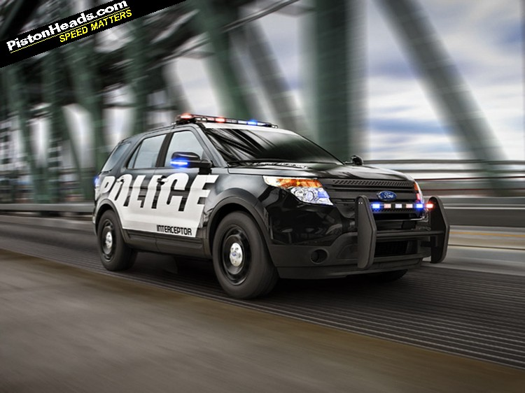 Ford Interceptors Fastest Cop Cars In The Us Pistonheads