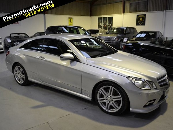 Mercedes E500 Coupe Spotted Pistonheads