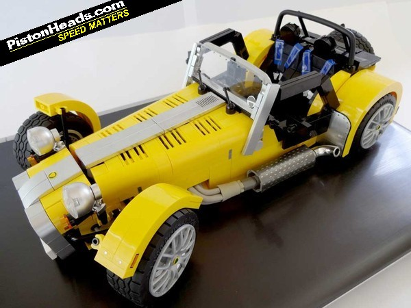 lego caterham update pistonheads. Black Bedroom Furniture Sets. Home Design Ideas