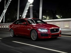 Shouldn't the Jag XE be lighter? Perhaps not...