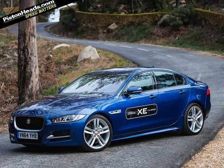 jaguar xe driven pistonheads