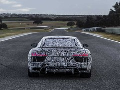 Naturally aspirated V10 comes as a surprise