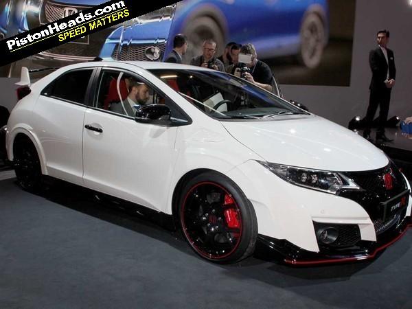 Cars 30k >> Honda Civic Type R - Geneva 2015 | PistonHeads