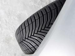 CrossClimate's distinctive tread pattern