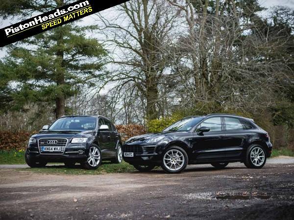 Audi SQ5 vs Porsche Macan Diesel Blood Bros