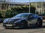 Aston Martin Vantage GT12 out and about