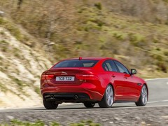 XE S is happier - much happier - on the road