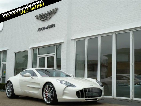 re: aston martin one-77: spotted - page 1 - general gassing