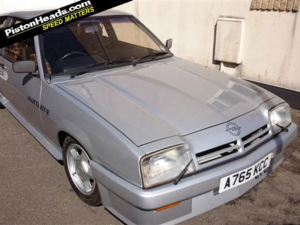 Opel Manta GTE: Spotted | PistonHeads