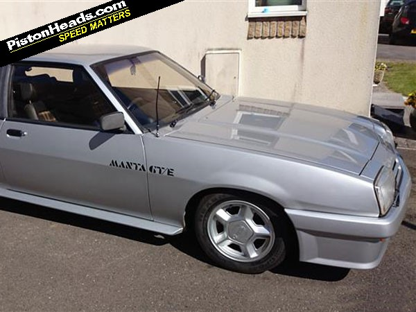 RE: Opel Manta GTE: Spotted - Page 1 - General Gassing - PistonHeads