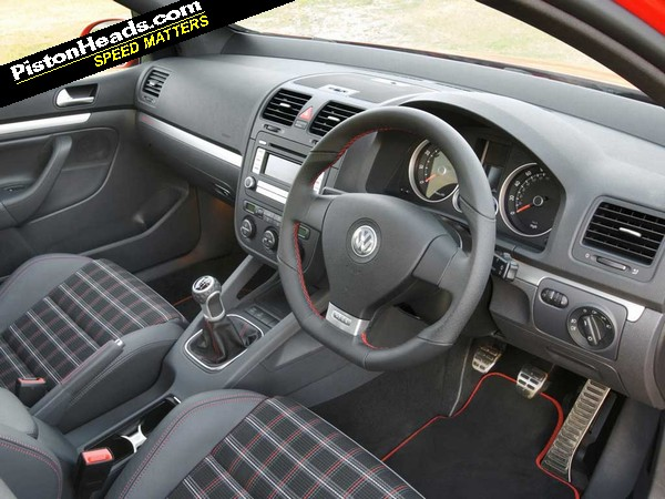 Volkswagen Tugged Mercilessly On The Heartstrings With The Nostalgic Tartan  Upholstery That Was Standard In The Mk5 GTI. Leather Seats Were An Option,  ...