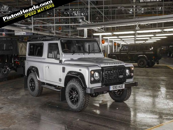 Land Rover Defender 2 000 000 Announced Pistonheads