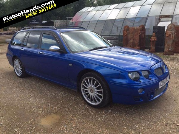 re shed of the week mg zt t rover 75 tourer page 1. Black Bedroom Furniture Sets. Home Design Ideas