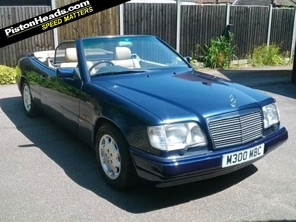 Mercedes w124 cabriolet guilty pleasures pistonheads for How long does it take to build a mercedes benz