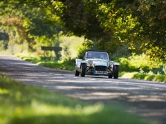 Slow in a Caterham here very difficult
